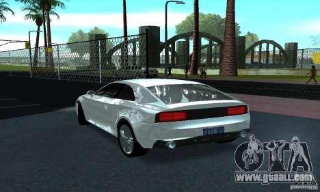 Audi Quattro Concept 2013 for GTA San Andreas right view