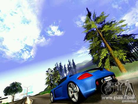 Porsche Carrera GT for GTA San Andreas right view