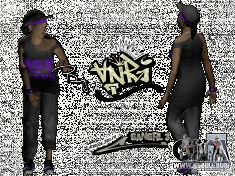 Ballas Gang for GTA San Andreas forth screenshot