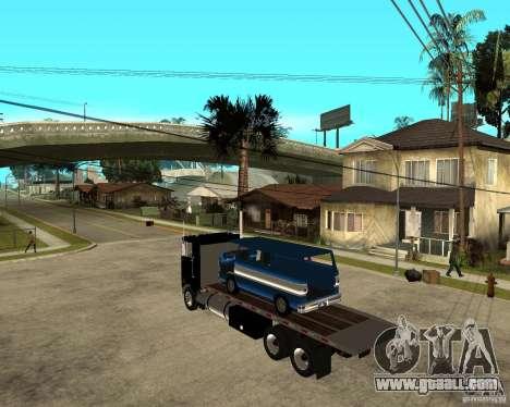 Peterbilt for GTA San Andreas left view