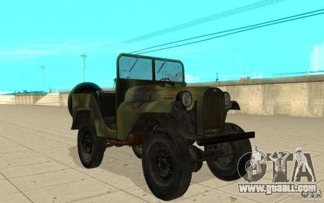 Gaz-64 skin 2 for GTA San Andreas