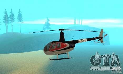 Robinson R44 Raven II NC 1.0 Skin 2 for GTA San Andreas
