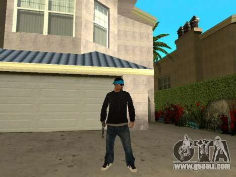 Black Rifa SkinPack for GTA San Andreas third screenshot
