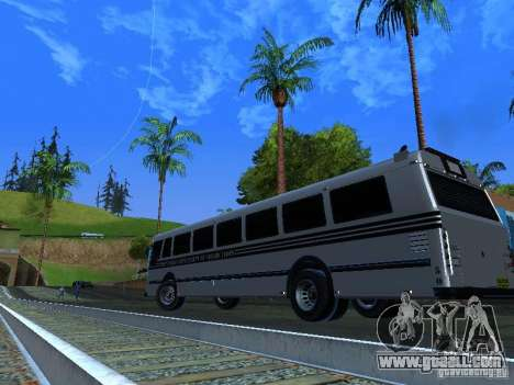 Prison Bus for GTA San Andreas inner view