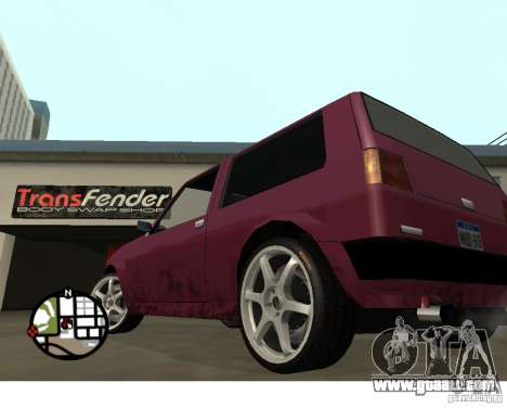 Wheels from the game Juiced 2  Pack 1 for GTA San Andreas third screenshot