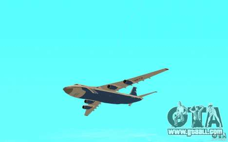 The an-124 Ruslan for GTA San Andreas right view