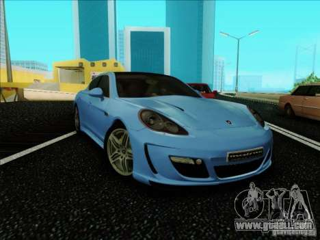Gemballa Mistrale 2010 V1.0 for GTA San Andreas