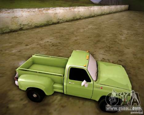 GMC 80 for GTA San Andreas right view