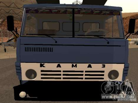 KAMAZ truck for GTA San Andreas right view