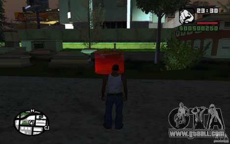 The Mission of MOM CJ for GTA San Andreas second screenshot