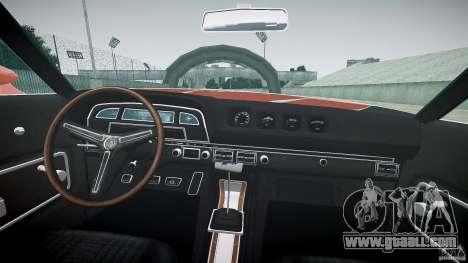 Mercury Cyclone Spoiler 1970 for GTA 4 right view