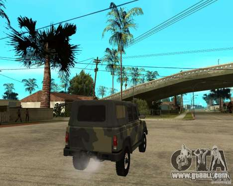 UAZ-3172 for GTA San Andreas back left view
