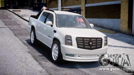 Cadillac Escalade Ext for GTA 4