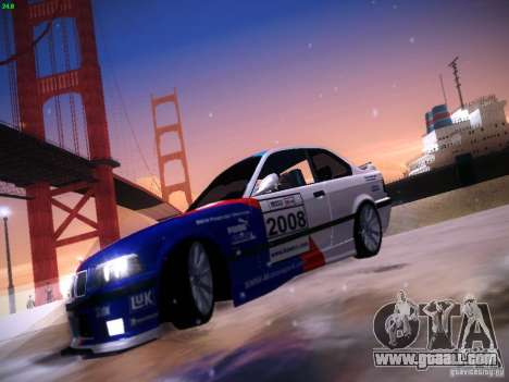 BMW M3 E36 320i Tunable for GTA San Andreas side view