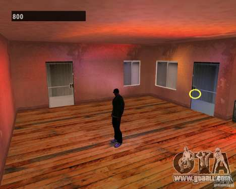 Hidden interiors 3 for GTA San Andreas fifth screenshot