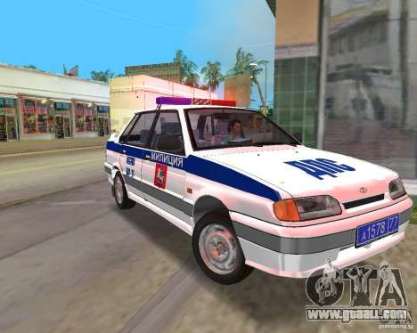 VAZ 2115 DPS for GTA Vice City
