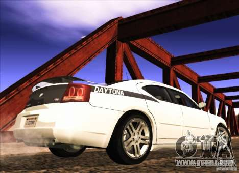 Dodge Charger R/T Daytona for GTA San Andreas back left view