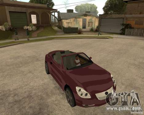 Lexus SC430 for GTA San Andreas