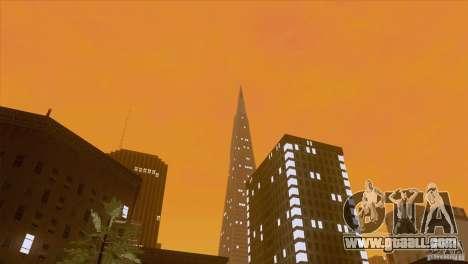 BM Timecyc v1.1 Real Sky for GTA San Andreas sixth screenshot