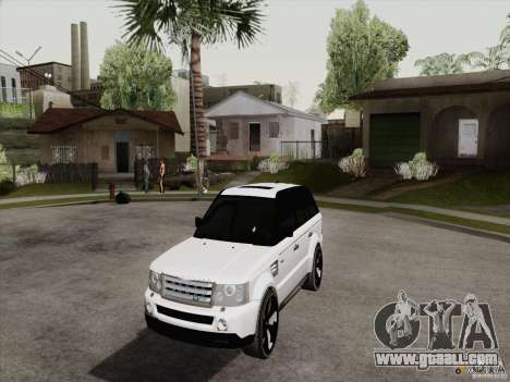 Range Rover Tuning for GTA San Andreas