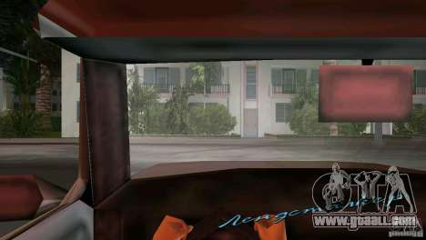 View from the cab for GTA Vice City second screenshot