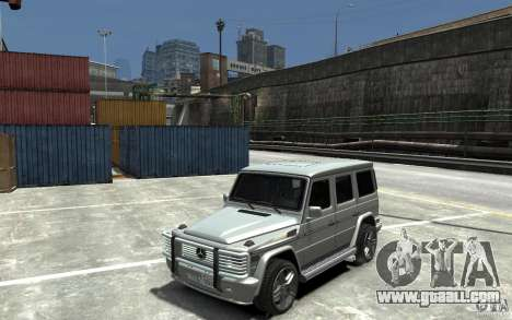 Mercedes-Benz G 55 AMG 2009 for GTA 4 left view