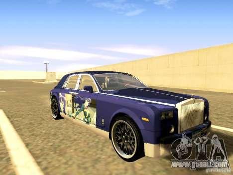 Rolls-Royce Phantom V16 for GTA San Andreas wheels