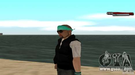 Skin Pack The Rifa Gang HD for GTA San Andreas eighth screenshot