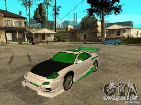 Mitsubishi Eclipse Midnight Club 3 DUB Edition for GTA San Andreas