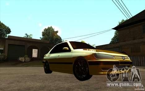 Peugeot 406 Taxi for GTA San Andreas