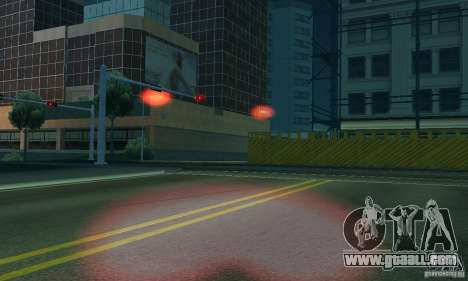 Red lights for GTA San Andreas sixth screenshot