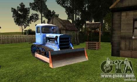 Bulldozer of DT-75 Kazakhstan for GTA San Andreas