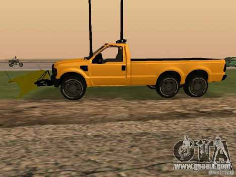 Ford Super Duty F-series for GTA San Andreas left view