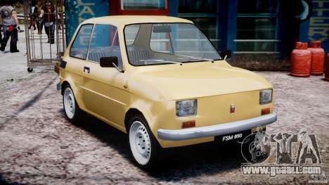 Fiat 126p 1976 for GTA 4