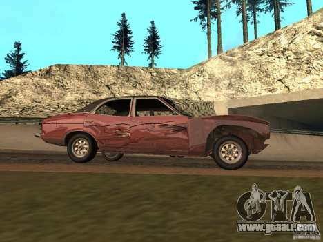 Ford Cortina MK 3 2000E for GTA San Andreas side view