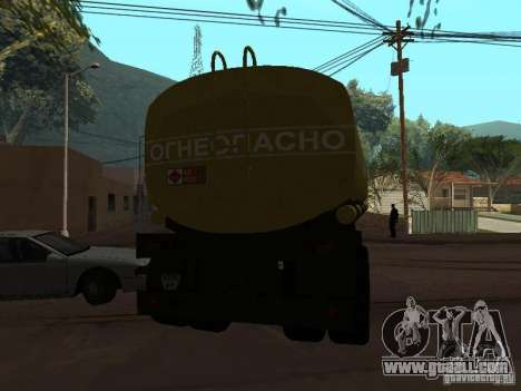 tank PPC for GTA San Andreas back left view