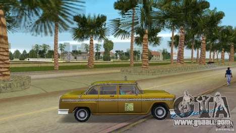 Cabbie HD for GTA Vice City right view