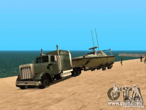 Trailer boats for GTA San Andreas