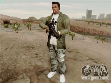 Colt Commando Aimpoint for GTA San Andreas