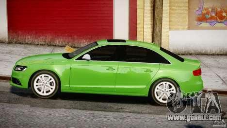 Audi S4 2010 v1.0 for GTA 4 left view