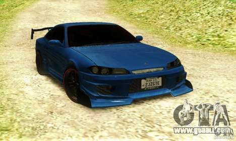 Nissan Silvia S15 Tuned for GTA San Andreas back left view