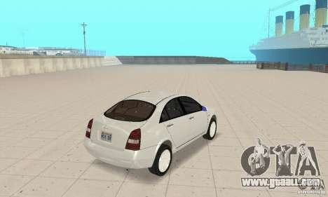 Nissan Primera for GTA San Andreas left view