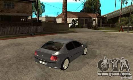 Peugeot 407 for GTA San Andreas right view