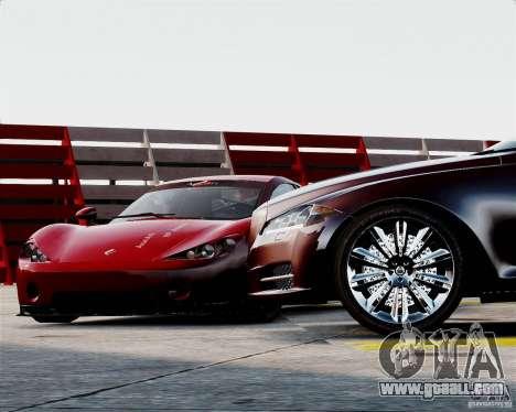 Ascari A10 2007 v2.0 for GTA 4 side view