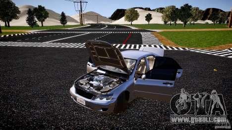 Lexus IS300 for GTA 4 side view