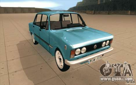 Fiat 125p for GTA San Andreas back view