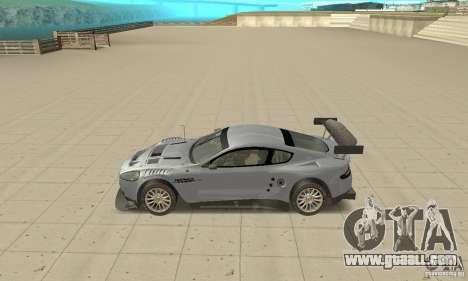 Aston Martin DBR9 (v1.0.0) for GTA San Andreas left view