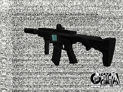 New Weapons Pack for GTA San Andreas