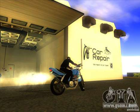 Yamaha XJR400 for GTA San Andreas right view