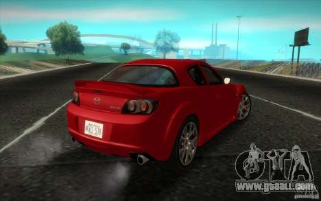 Mazda RX-8 R3 2011 for GTA San Andreas left view